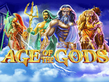 Игра на биткоины в игровом аппарате Age Of The Gods