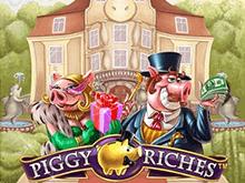 Играть на биткоины в слот Piggy Riches онлайн